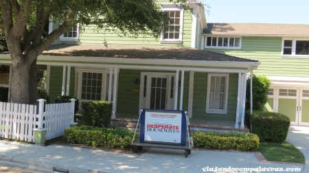 Casas das Desperate Housewives no Universal Studios Hollywood