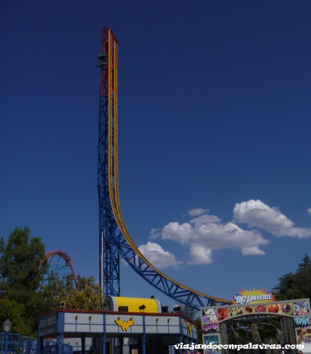 Six Flags Magic Mountain, Califórnia