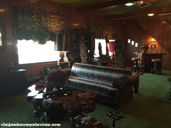 Jungle Room Graceland Memphis Casa Elvis Presley