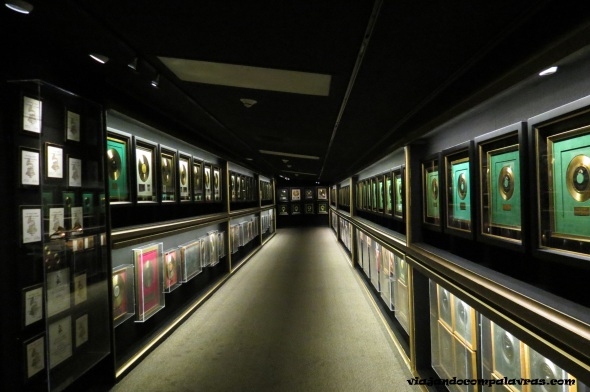 Hall of Gold Graceland Memphis Casa Elvis Presley