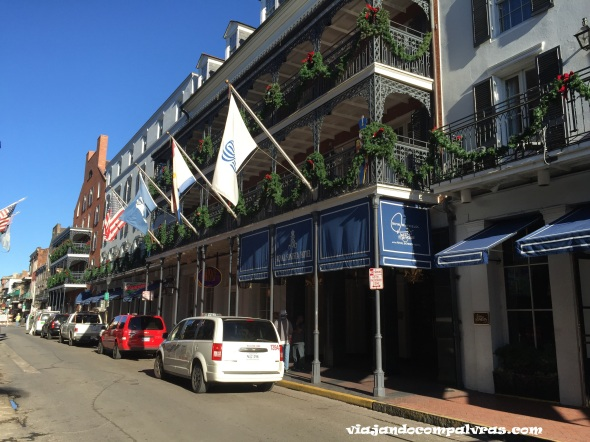 Ruas do French Quarter New Orleans