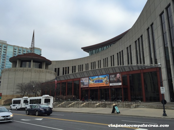 Prédio Country Music Hall of Fame and Museum Nashville