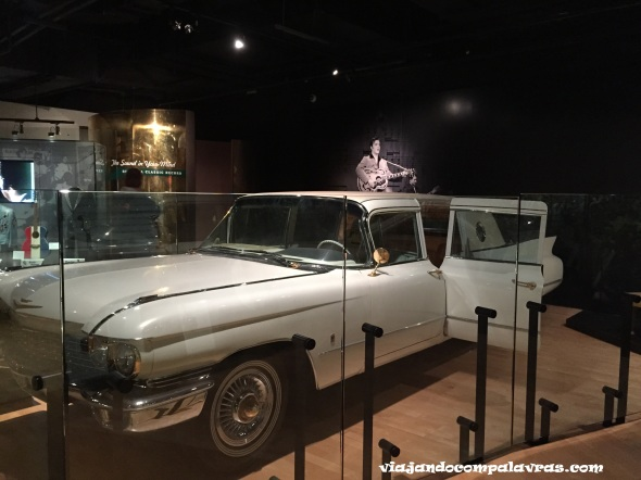 Carro Elvis Presley Exposição Country Music Hall of Fame and Museum Nashville