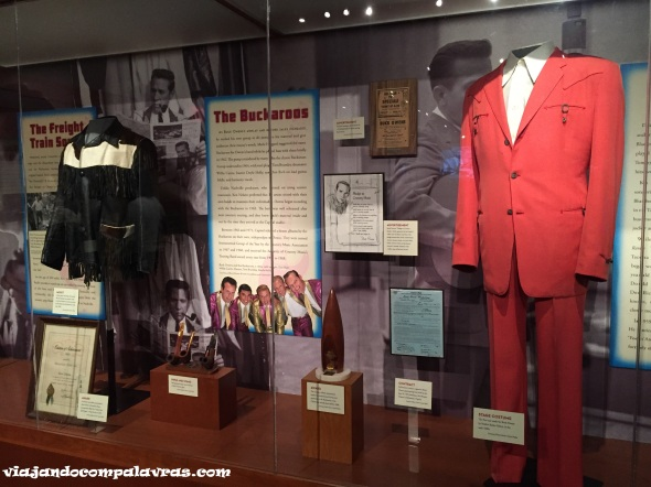 Exposições roupas Country Music Hall of Fame and Museum Nashville