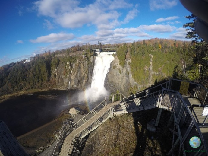 Montmorency Falls, Quebec, Canadá