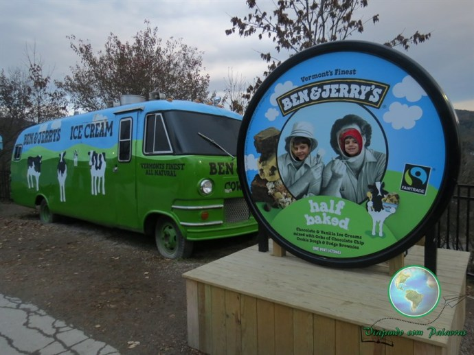 Fábrica de sorvete Ben and Jerry
